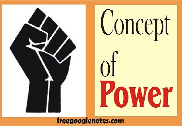 ba llb question answers concept of power