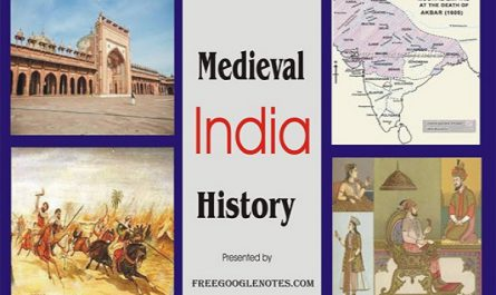 BA LLB history sample question answer political history of medieval India