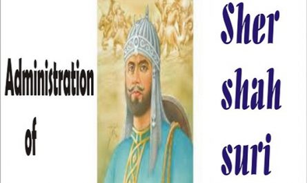 BA LLB I year, I semester Indian history sample question answer on Administration of Sher Shah Suri A detailed Summary