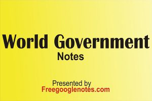 International relations Theory World Government