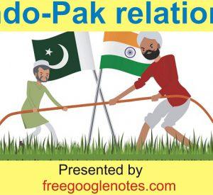 India-Pakistan Relations UPSC LLB BA LLB pdf