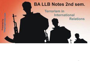 International terrorism in international relations,causes,effect of terrorism