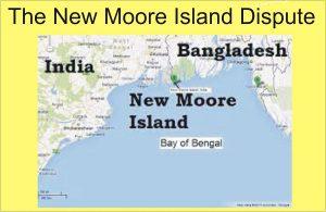 The New Moore Island Dispute
