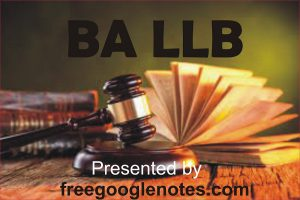 BA LLB fullform syllabus subjecst scope duration complete information