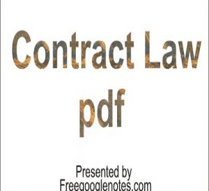 Contract Law pdf-Breach of Contract measure of Damages and liquidated Damages and Penality